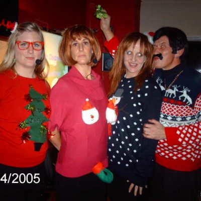 Image from THE OFFICE CHRISTMAS DO